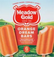 Meadow Gold® Orange Dream Ice Cream Bars - 6 ct / 2.5 fl oz