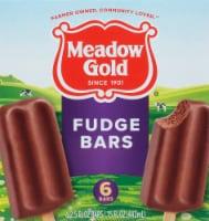 Meadow Gold Chocolate Fudge Bars - 6 ct / 2.5 fl oz