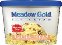 Meadow Gold Butter Pecan Ice Cream - 48 fl oz