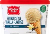 Meadow Gold French Vanilla Ice Cream - 48 fl oz