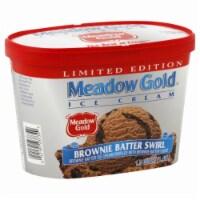 Meadow Gold Brownie Batter Swirl Ice Cream - 48 fl oz