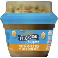 Progresso Toppers Chicken Noodle Soup with Oyster Crackers