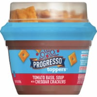 Progresso Toppers Tomato Basil Soup with Cheddar Crackers