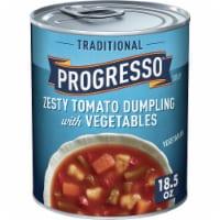 Progresso Traditional Zesty Tomato Dumpling with Vegetables Soup - 18.5 oz