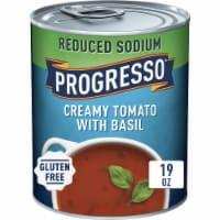 Progresso Reduced Sodium Creamy Tomato with Basil Soup