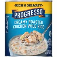 Progresso Rich & Hearty Creamy Roasted Chicken Wild Rice Soup