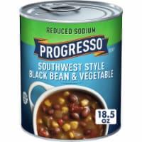 Progresso Reduced Sodium Southwest Style Black Bean & Vegetable Soup - 18.5 oz