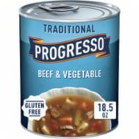 Progresso Traditional Beef & Vegetable Soup - 18.5 oz