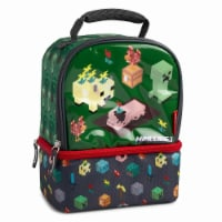 Thermos 'Minecraft' Insulated Novelty Lunch Bag (Green/Black) - 1