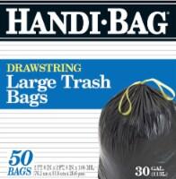 Handi-Bag Large Drawstring Trash Bags 30 Gallon