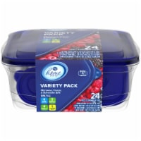 Kroger® Seal n' Lock Container Variety Pack Set - Clear/Blue