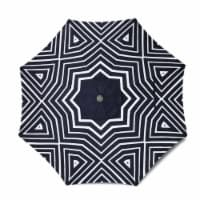 HD Designs Outdoors® Geometric Market Umbrella - Black/White