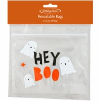 Holiday Home™ Hey Boo Resealable Trick or Treat Bags