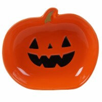 Holiday Home® All Hallows Punkin Tidbit Plate - Orange