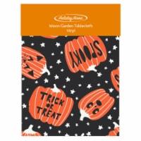 Holiday Home® Moon Garden Vinyl Tablecloth - Pumpkin