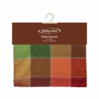 Holiday Home® Autumn Check  13 x 72 Inch Table Runner