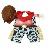 Holiday Home® Medium Cowboy Pet Costume