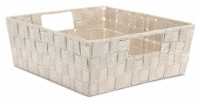 Everyday Living Woven Strap Shelf Tote - Latte