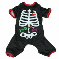Holiday Home® Medium Skeleton Pet Pajamas