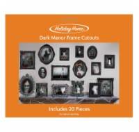 Holiday Home® Dark Manor Frame Cutouts - 20 pc