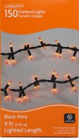 Holiday Home® Garland Lights - Ceramic Orange
