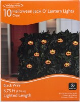 Holiday Home® Halloween Smile Pumpkin String Lights