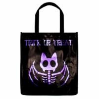 Holiday Home® Reflective Treat Bag - Skeleton Bat
