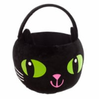 Holiday Home® Fabric Cat Treat Bucket - Black