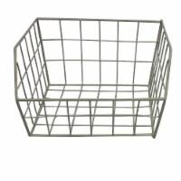 HD Designs® Small Rectangle Wire Basket - Birch