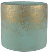 The Joy of Gardening® Cylinder Planter - Patina