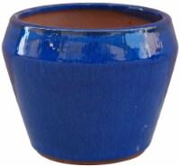 The Joy of Gardening® Cai Mid Planter - Blue