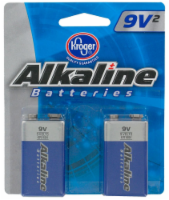 Kroger® 9 Volt Alkaline Batteries
