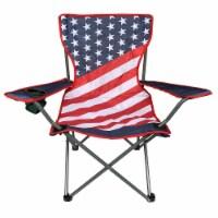 Glacier's Edge Flag Chair
