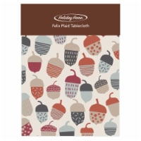 Holiday Home® Felix Plaid Tablecloth - Acorn