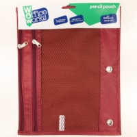 Office Works® Nylon Mesh Pencil Pouch - Assorted