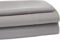 Everyday Living Microfiber Striped Sheet Set - 3 Piece - Frost Gray