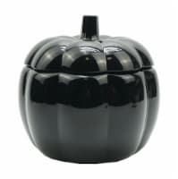 Holiday Home® Pumpkin Jar - Black