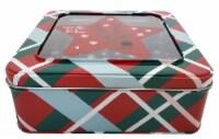 Holiday Home® Medium Square Reindeer Tin