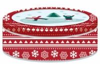 Holiday Home® Small Round Tin - Snowflake