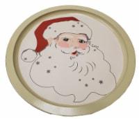Holiday Home® Santa Tin Serve Platter