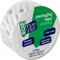 Office Works® Shipping and Packaging Tape - Clear