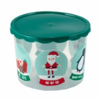 Holiday Home® Snowglobes Food Container