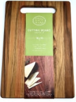 Dash of That® Teak Wood Cutting Board - Natural
