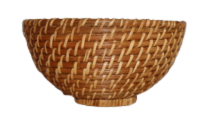 Dash of That Small Rattan Serving Bowl