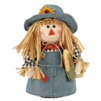 Holiday Home® Fabric Scarecrow with Corn