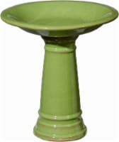 Tri-R Sales Mini Bird Bath - Bright Green