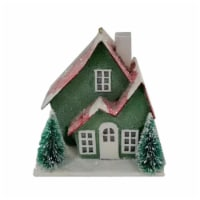 Holiday Home® Paper House with Snow - Assorted