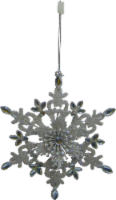 Holiday Home® Snowflake Ornament