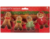 Holiday Home™ Gingerbread Family Cookie Cutter Set