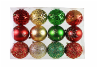 Holiday Home® Shatterproof Ornaments - Red/Green/Gold